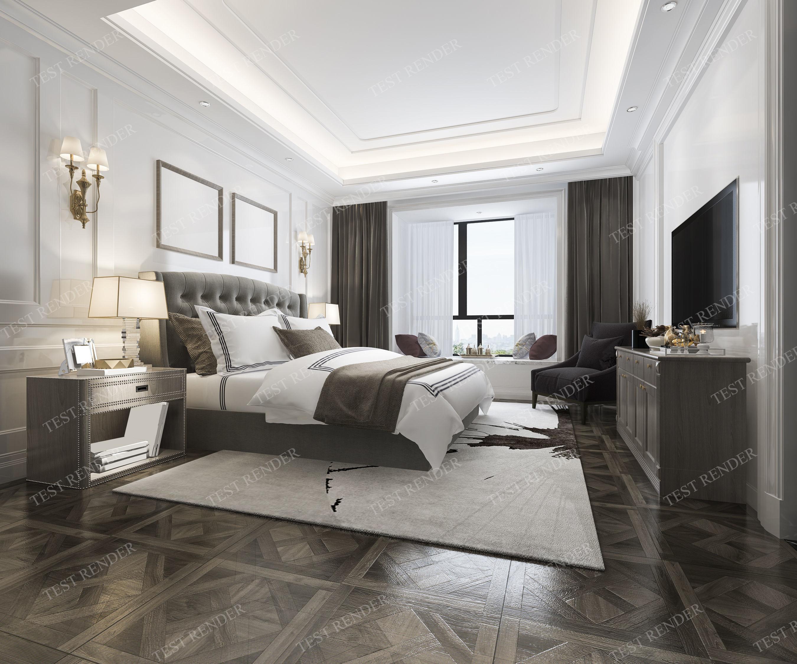 3d model luxury classic modern bedroom suite in rh cgtrader com classic modern bedroom furniture