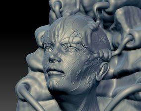 3D printable model Bio Mechanical sculpt