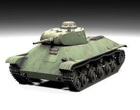 3D model T50 Lowpoly