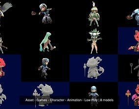 Asset - Games - Character - Animation - Low Poly 3D model