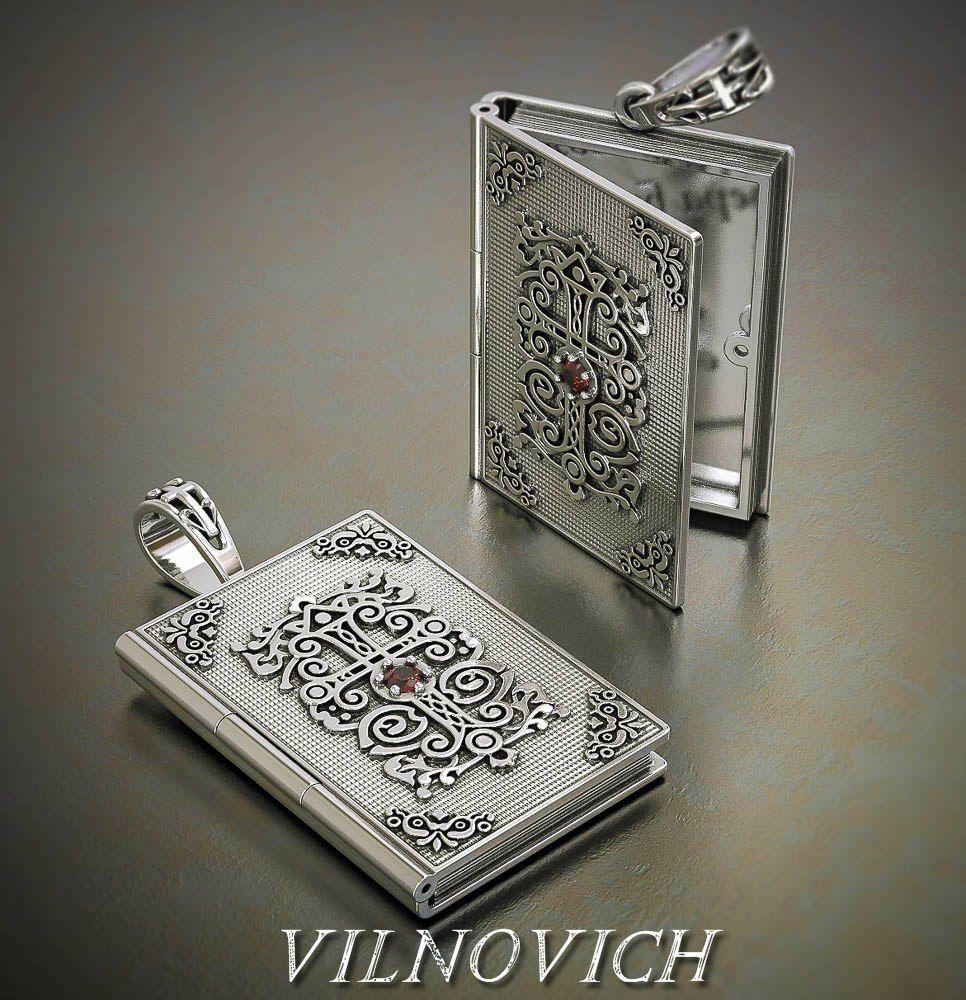 prayer book pendant