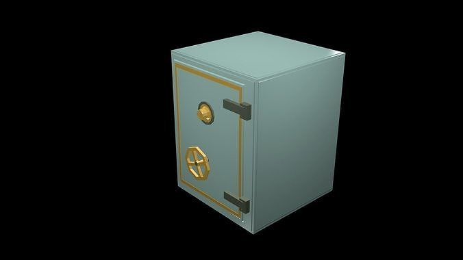low-poly-safe-1-3d-model-low-poly-obj-mt