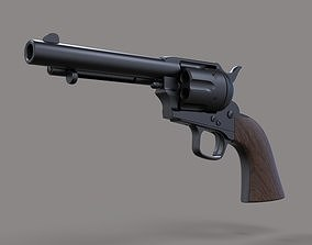 3D model Revolver Colt Single Action