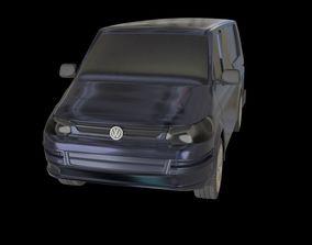 3D model VW Transporter Kombi