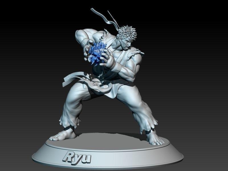 Street Fighter Ryu - Hadouken preparation
