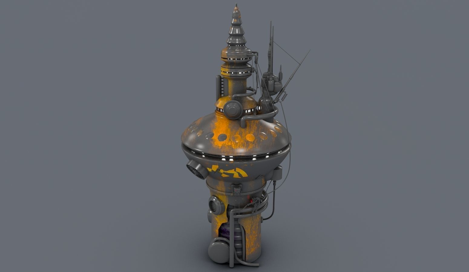 Radio Tower 2076 | 3D model