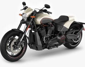Harley-Davidson FXDR 114 2019 3D model