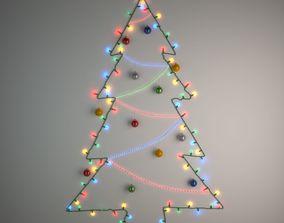 3D model DIY Christmas Light Tree