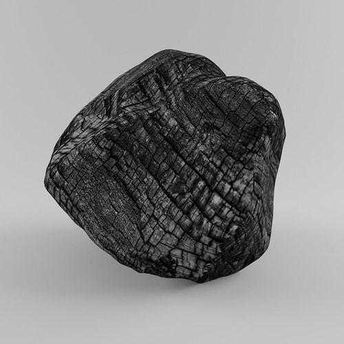 fire tree coal 3d model 2019 - new cool model coal 3d model max obj mtl 3ds fbx 1