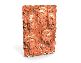 3D printable model jade carving whirl