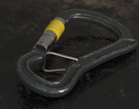 outdoors 3D model Carabiner