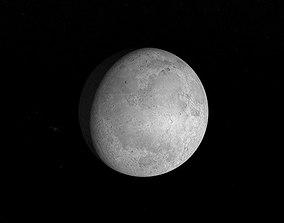 3D model Realistic Moon