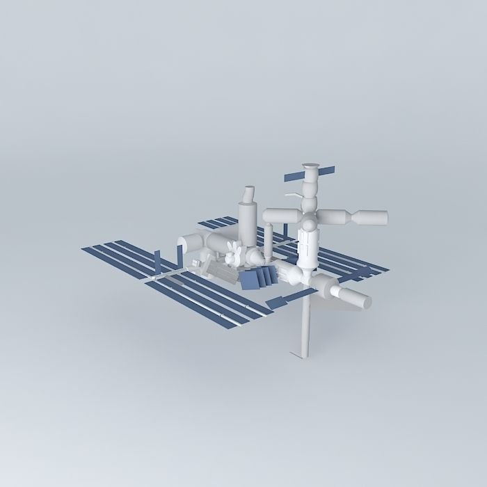 3d model international space station - photo #43