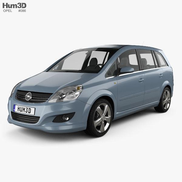 Opel Zafira B 2009
