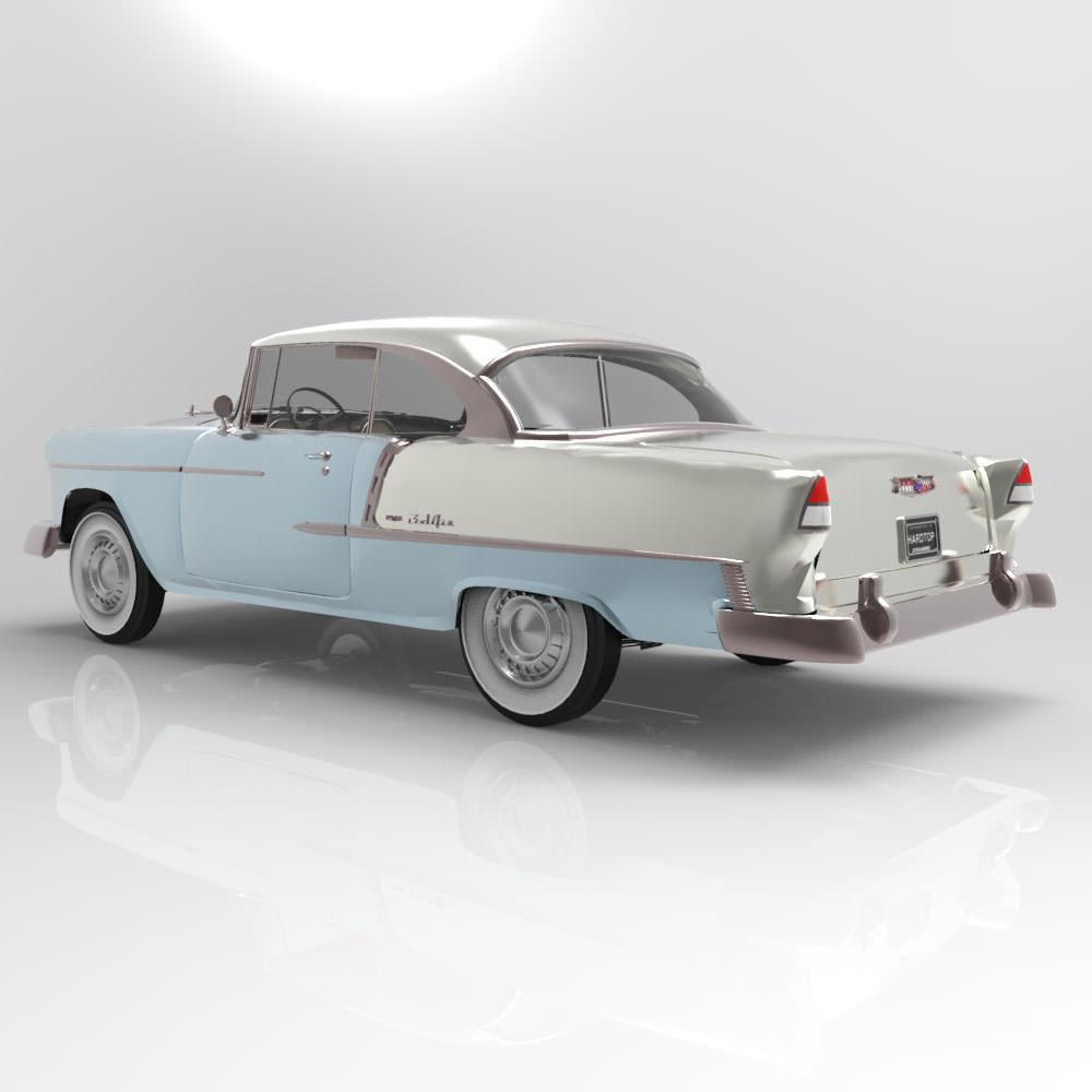 Chevrolet Bel Air 1955 3D | CGTrader