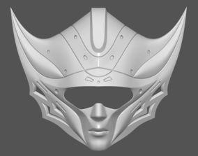 Princess Kushana Mask Cosplay 3D print model 3D print