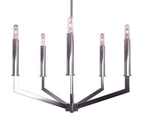 3D model Filament Design 5 -Light Brushed Nickel