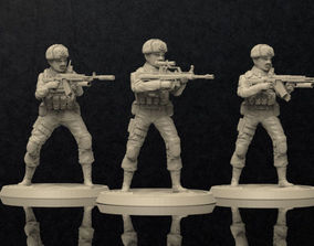 3D printable model Soldiers Figure Set 1