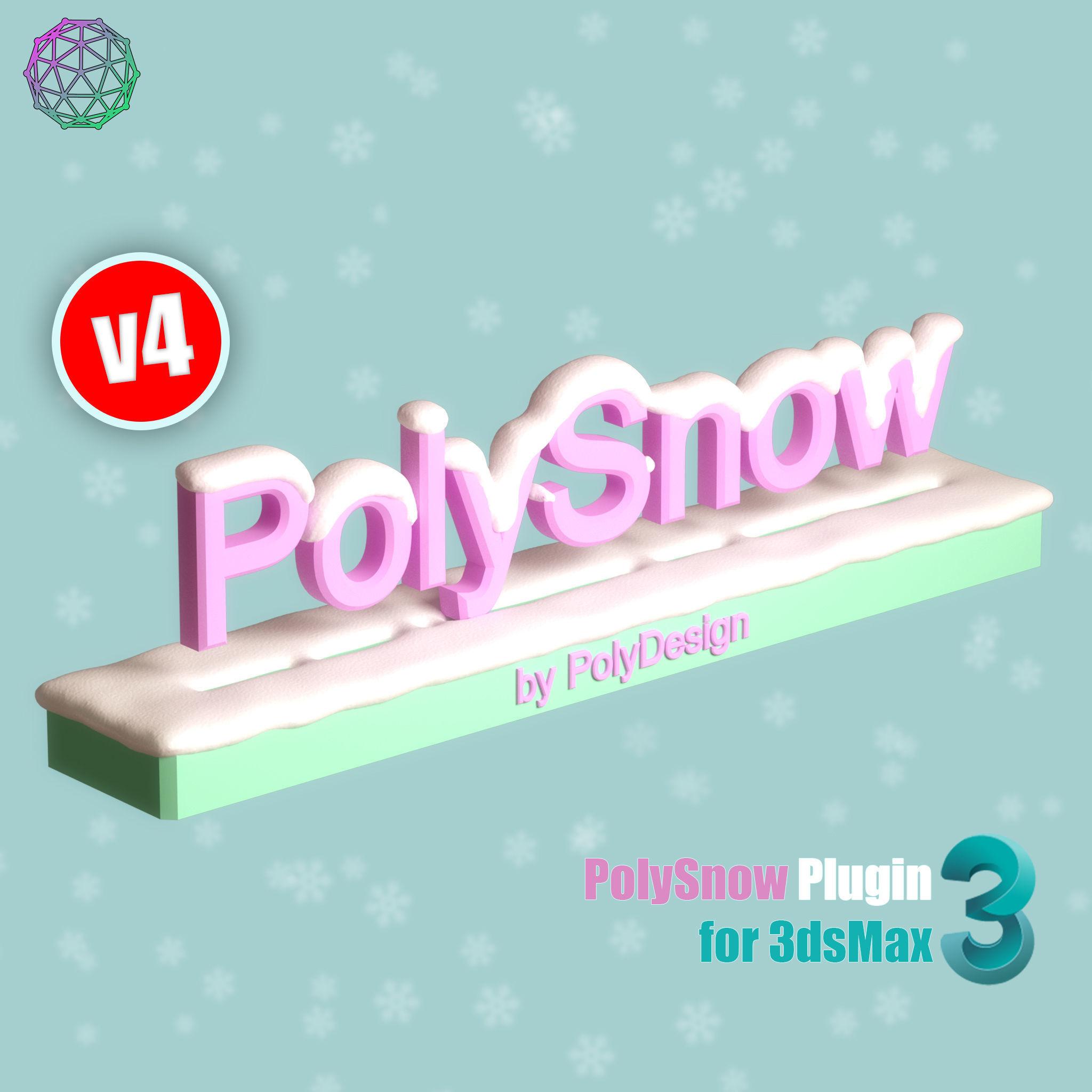 PolySnow V4 for 3dsmax