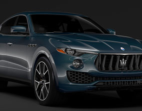 3D model Maserati Levante S Q4 GranSport 2017