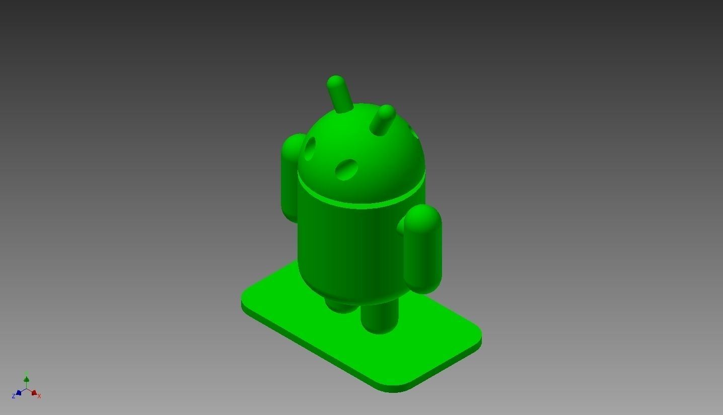 Android logo free 3d model 3d printable stl 3d printer models free