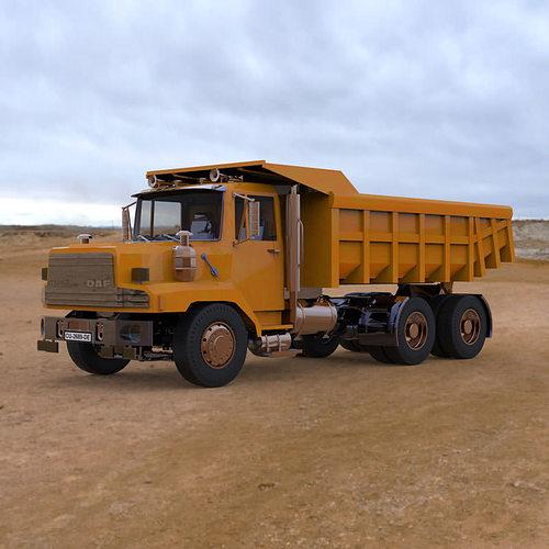 dump truck 3d model max pdf 1