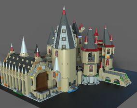 Lego school of magic 3D
