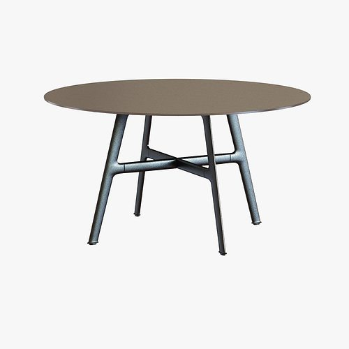 Dedon dining table 3d model cgtrader for Dining table latest model