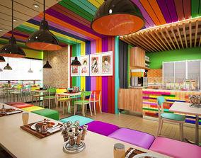 3D Japanesse Cafe Itadaikimasu