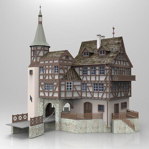 Gutenbach studio max 3d model cgtrader for 3d studio max models