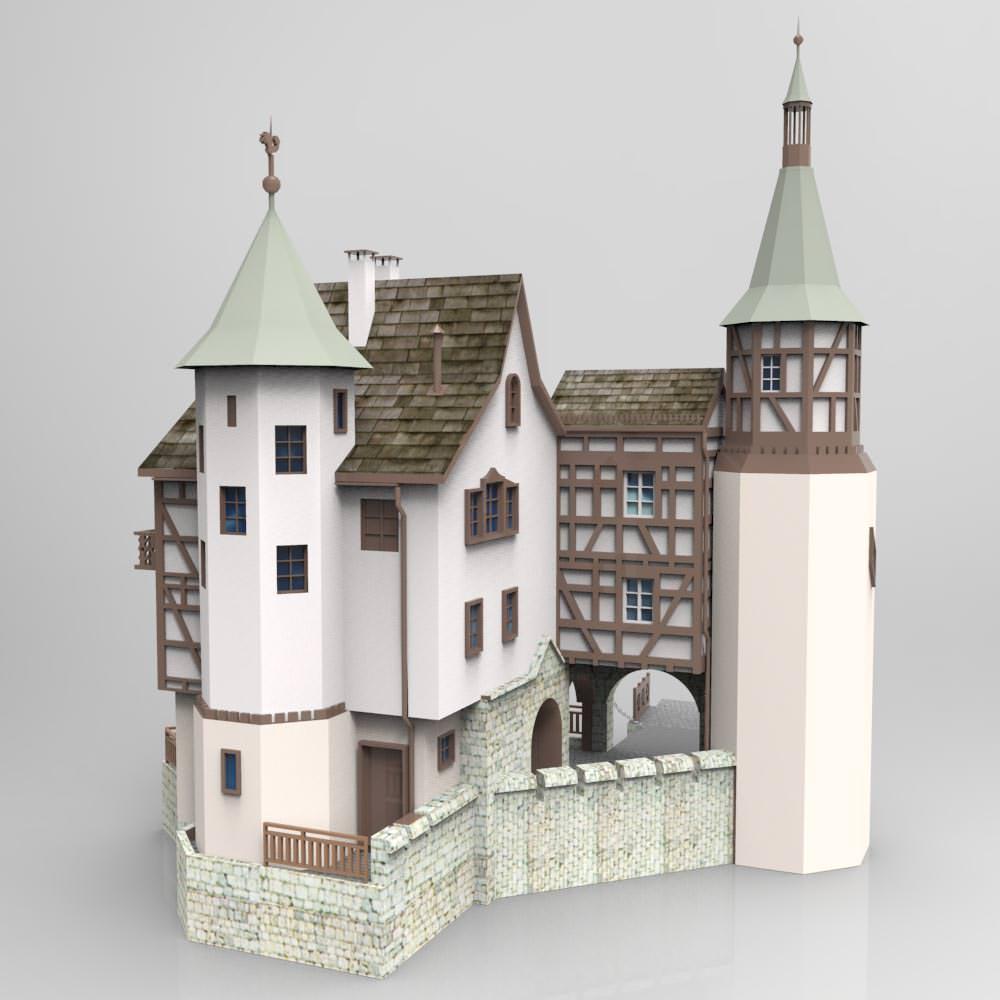 Gutenbach studio max 3d model max for 3d studio max models