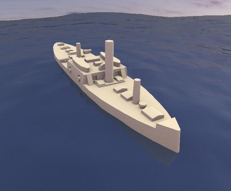Ironclad Admiral Tamandare