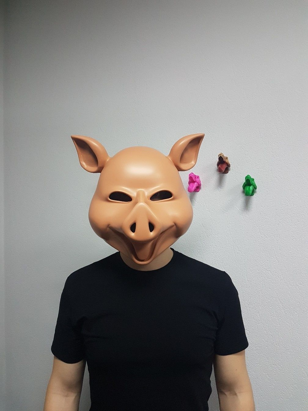 graphic relating to Printable Pig Mask identify Pig mask Snowboard mask Horror mask The Purge mask 3D Print Design