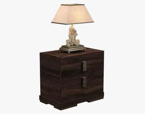 Bedside Cabinet 001 3D asset