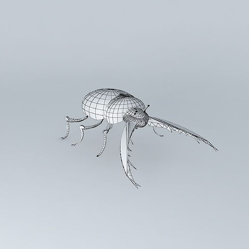 Beetle toane by fr d ric tabary 3d model max obj 3ds fbx - Frederic tabary ...
