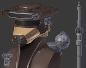 Boushh from Star Wars 3D print model