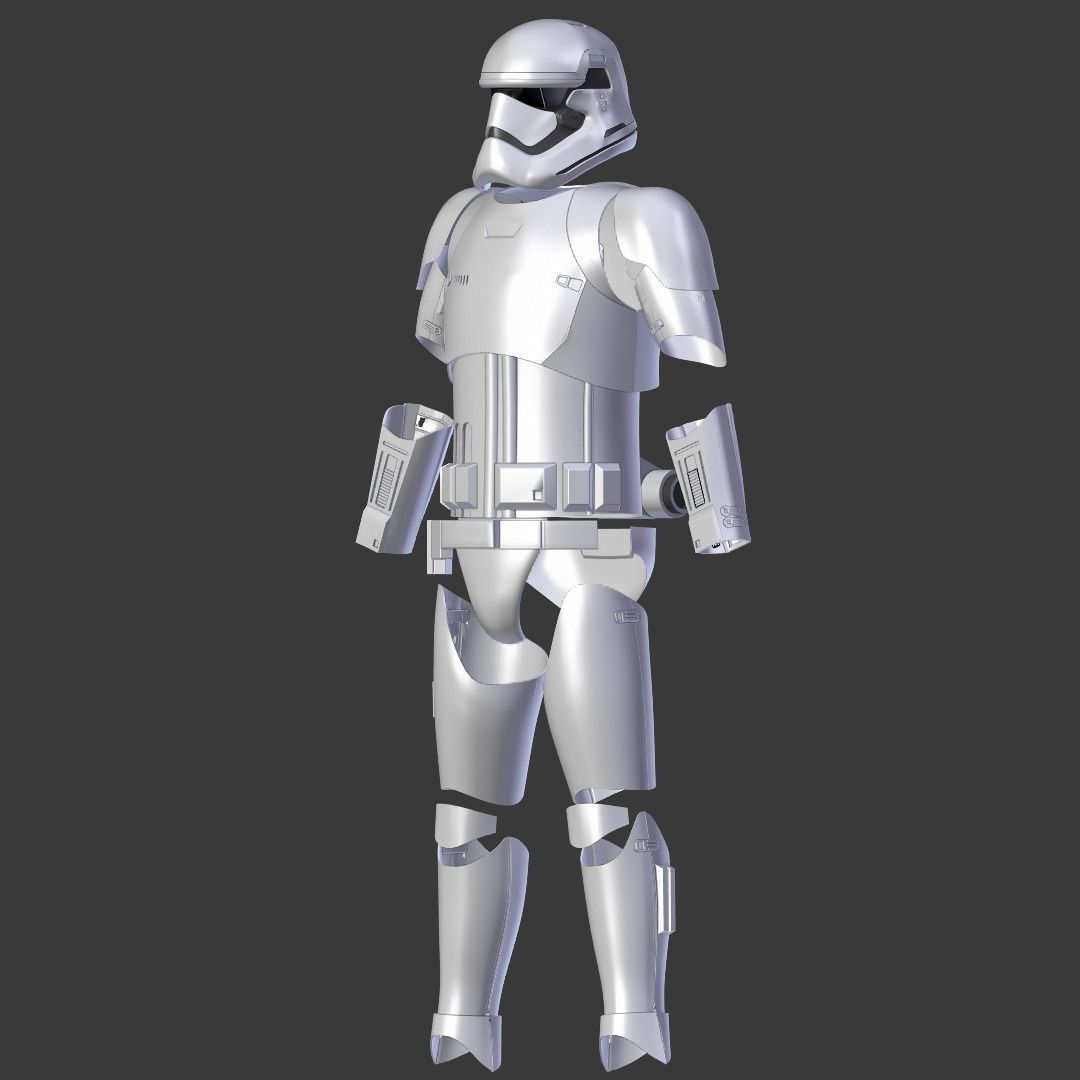 Stormtrooper Armor First Order from Star Wars