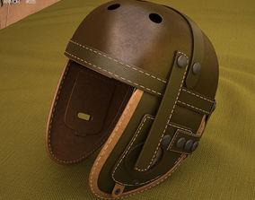 3D model WW2 US M38 Tankers Helmet