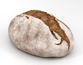 Brown Bread 3D model