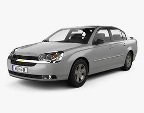 3D Chevrolet Malibu 2004