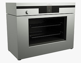 3D asset Electric Oven 01