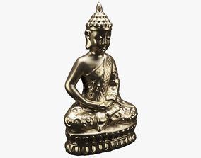 Gautama Buddha statue 3D