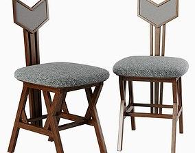 Jean Louis Deniot chair 3D model VR / AR ready