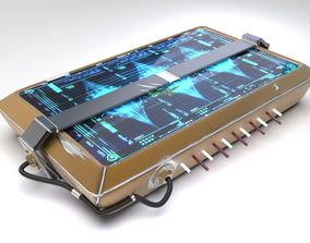 The Lock Case From Future 3D model
