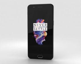 3D model OnePlus 5 Slate Gray