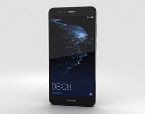 Huawei P10 Lite Graphite Black 3D model