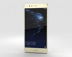 3D Huawei P10 Lite Platinum Gold