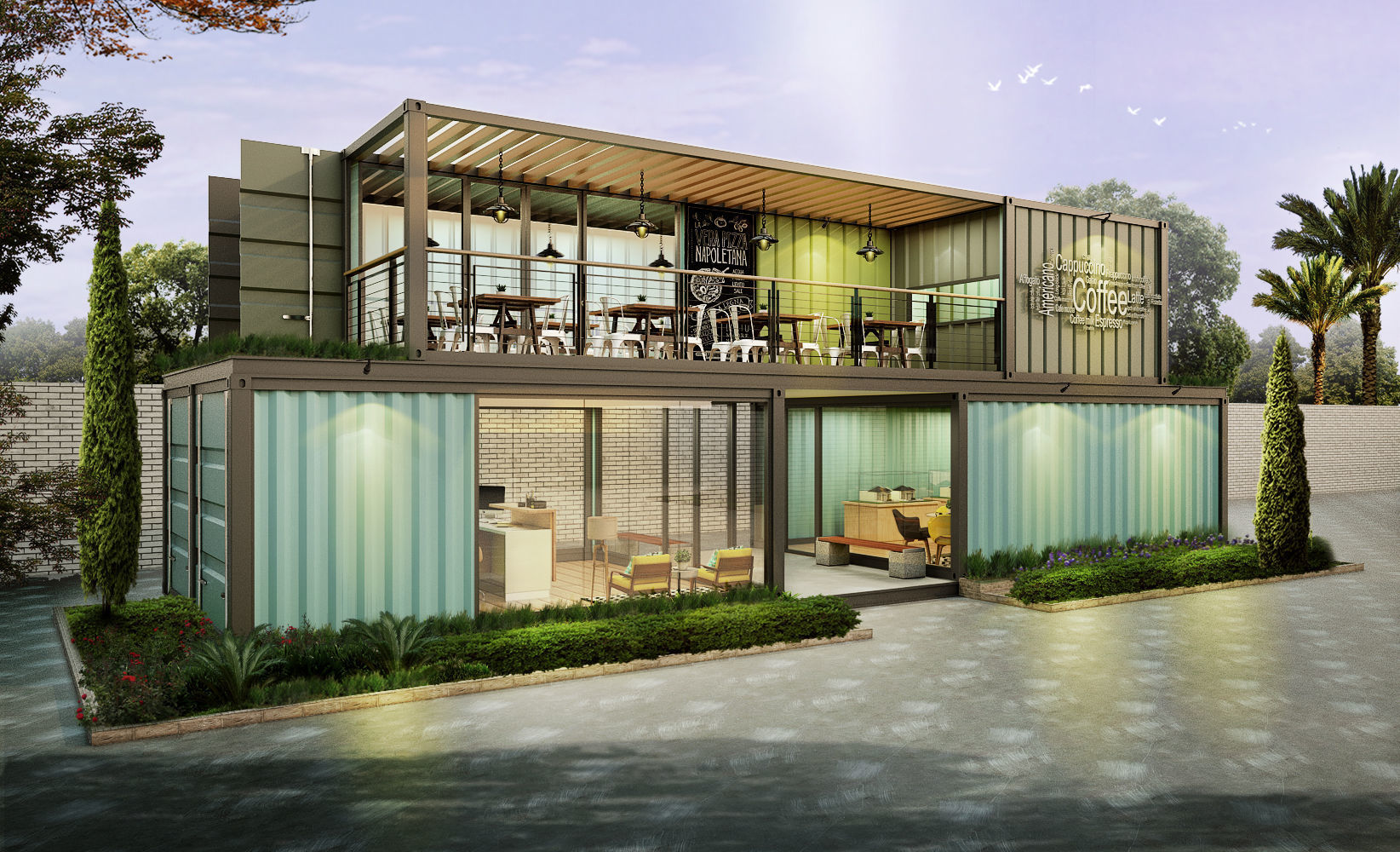 Container Cafe and Office