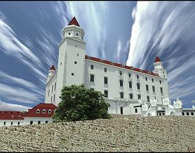 Bratislava castle - 18th century 3D