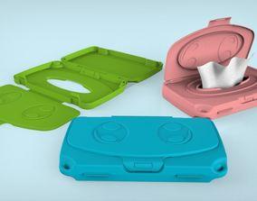 Baby Wipes Case 3D model